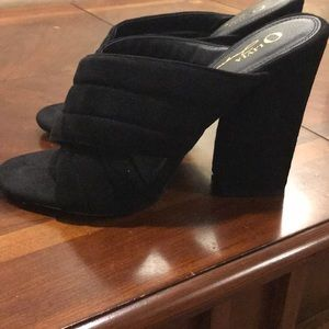 Size 10 (fits like a 9) Forever 21 Slip on Mule